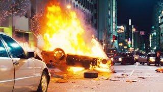 FAST and FURIOUS TOKYO DRIFT - City Chase Han Dies (RX7 &amp EvoX vs 350Z &amp 350Z) #108 ...