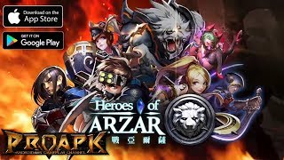 Heroes of Arzar Gameplay Android / iOS