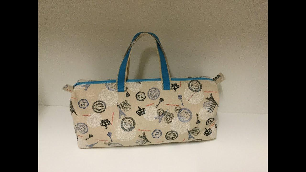 Coudre un sac à tricôt - Tuto Couture Madalena - YouTube