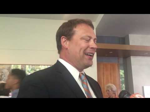 Heath Shuler talks Tennessee