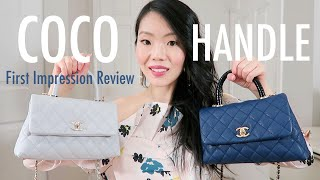 CHANEL COCO HANDLE MINI/SMALL REVIEW | FashionablyAMY
