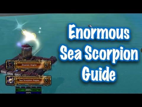 Jessiehealz - Enormous Sea Scorpion Fish Guide (World Of Warcraft)