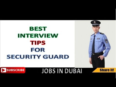 Best interview Question and Answer for Security Guard 2017 |