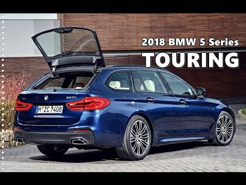 Bmw 5 Series Touring 2018 Test Drive Exterior Interior