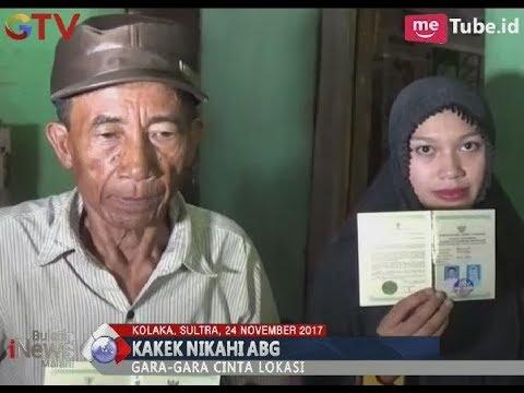 Unik!! Terlibat Cinta Lokasi, Seorang Kakek Nikahi Gadis ABG Berumur 17 Tahun - BIM 24/11