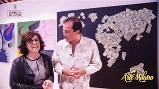 Intervista a Roberta Bissoli - Arte Milano the Factory 2018 - ArtetrA