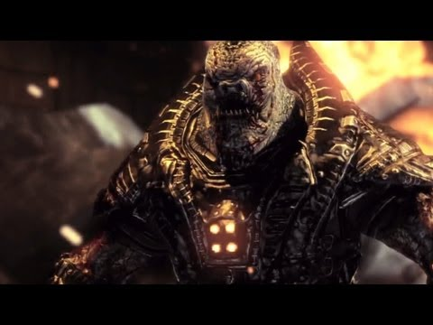 Gears of War 3: RAAM's Shadow DLC - Ending / RAAM Boss Fight - Walkthrough - Part 13 (Gameplay)