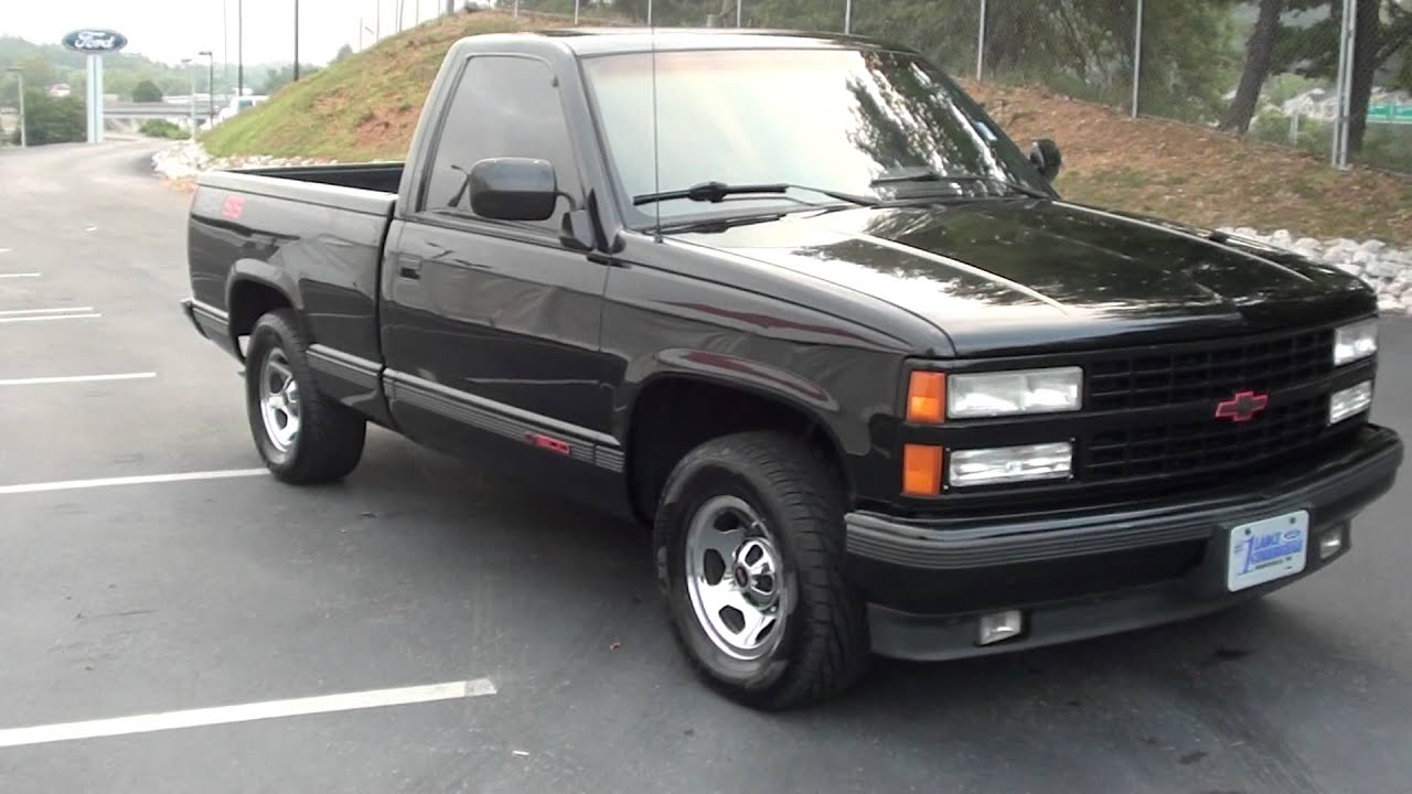 For Sale 1990 Chevrolet 1500 Ss 454 Only 134k Miles Stk 11798w
