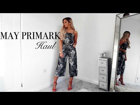 HUGE MAY SUMMER PRIMARK HAUL // & Try-on
