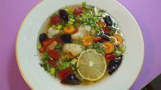 Суп овощной жиросжигающий с сельдереем и имбирем.
