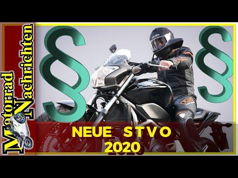 Neue Straßenverkehrsordnung 2020