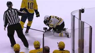 Sissons disgusting dive on Marchand