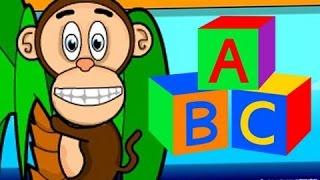 ABC Help Monkey Learn The Alphabet Learning Children Videos