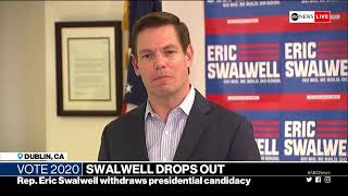 Congressman Eric Swalwell withdraws from 2020 presidential race | ABC News