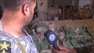 Syrische Armee entdeckt Chemiewaffen-Labor der Opposition in der Nähe von Damaskus