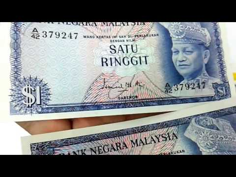 1967~1972 Malaysia 1st Series RM1 banknote