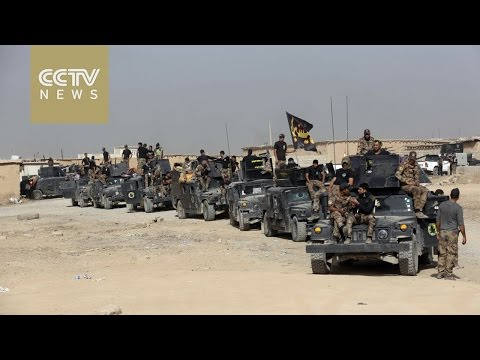 Iraqi forces push into town near Mosul after ISIL assault on Kirkuk