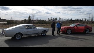 1967 Shelby GT500 vs 2017 Ford Mustang GT