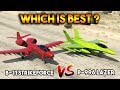 GTA 5 ONLINE : B-11 STRIKEFORCE VS LAZER (WHICH IS BEST?)