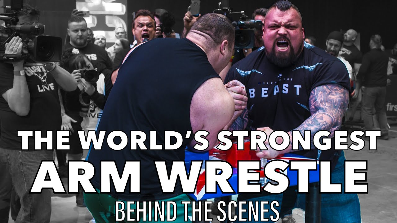 Download The World's Strongest Arm Wrestle! - Eddie Hall 'THE BEAST' VS Vytautas Lalas - Behind The Scenes