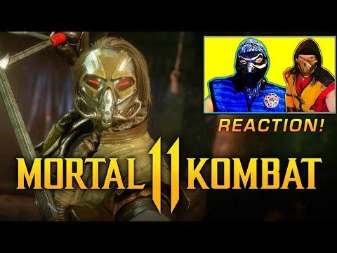 Scorpion & Sub-Zero REACT - MORTAL KOMBAT 11 KABAL REVEAL TRAILER | MK11 PARODY! thumbnail