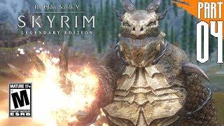 【SKYRIM 200+ MODS】Argonian Gameplay Walkthrough Part 4 [PC - HD]