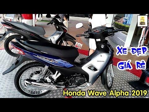"""Giá Xe Honda Wave Alpha 2019 Tháng 3 ▶️ Wave Alpha """"ÔNG VUA"""" Phân Khúc Xe Số 🔴 TOP 5 ĐAM MÊ"""