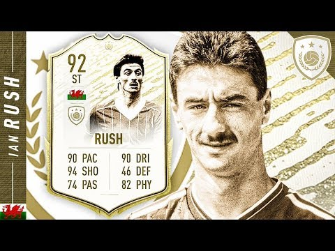 THIS CARD IS INSANE!! 92 MOMENTS IAN RUSH REVIEW!! FIFA 20 Ultimate Team