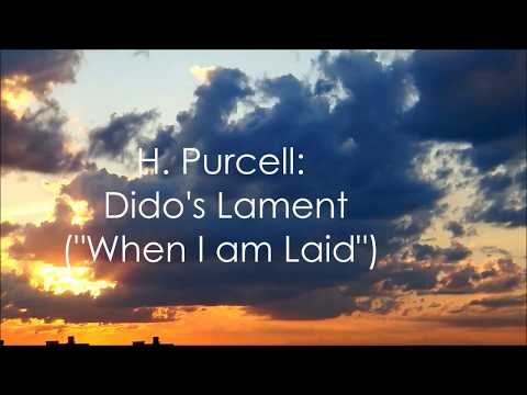 H. Purcell - Dido's Lament - Piano Arrangement