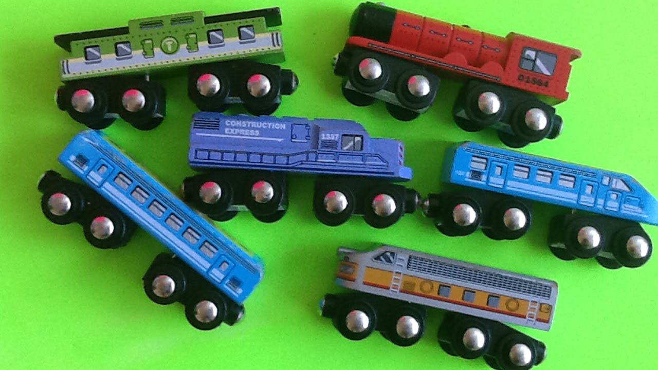 Target Toy Trains : Circo wooden trains from target compatible with