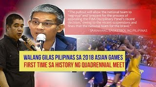 Gilas Pilipinas Pulls Out of 2018 Asian Games Men