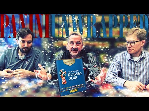 World Premiere Unboxing: Panini America's Official 2018 FIFA World Cup Sticker Collection