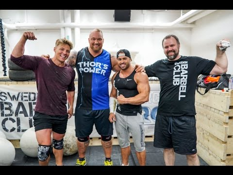 THE WORLDS STRONGEST MAN | FULL WORKOUT