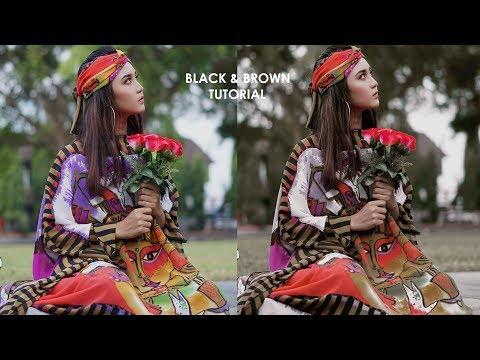 Tutorial Black and Brown Tone Adobe Photoshop thumbnail