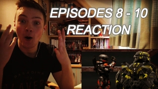RED VS BLUE: SEASON 12 EPISODES (8 - 10) - REACTION