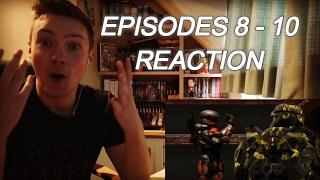 RED VS BLUE: SEASON 12 EPISODES (8 - 10) - REACTION