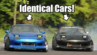 homepage tile video photo for We Built Identical Cars and Took Them Drifting Together! *LS Miata First Tandems!*