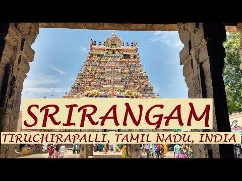 SRIRANGAM Temple, Tiruchirapalli, Tamil Nadu - English