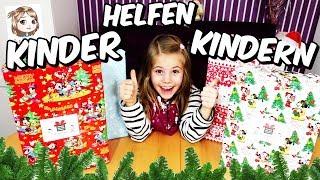 DER WEIHNACHTSPÄCKCHENKONVOI 🚚🎁 Wir packen Geschenke für Kinder! 💝 Kinder helfen Kindern