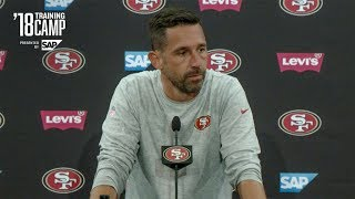 Kyle Shanahan Shares Expectations for Week in Houston