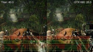 Crysis 3 Max Settings: GeForce Titan vs. GTX 680 - 2560x1440