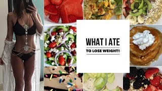 What i eat in a day healthy food options to lose weight | BeeisforBeeauty