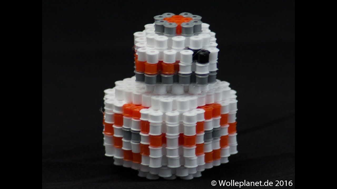 Bb 8 Star Wars Vii Perler Beads By Natescreenprints Bugelperlen