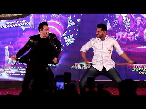 EPIC MOMENT Salman Khan & Prabhu Deva Dance Together @ Munna Badnaam Hua Mp3