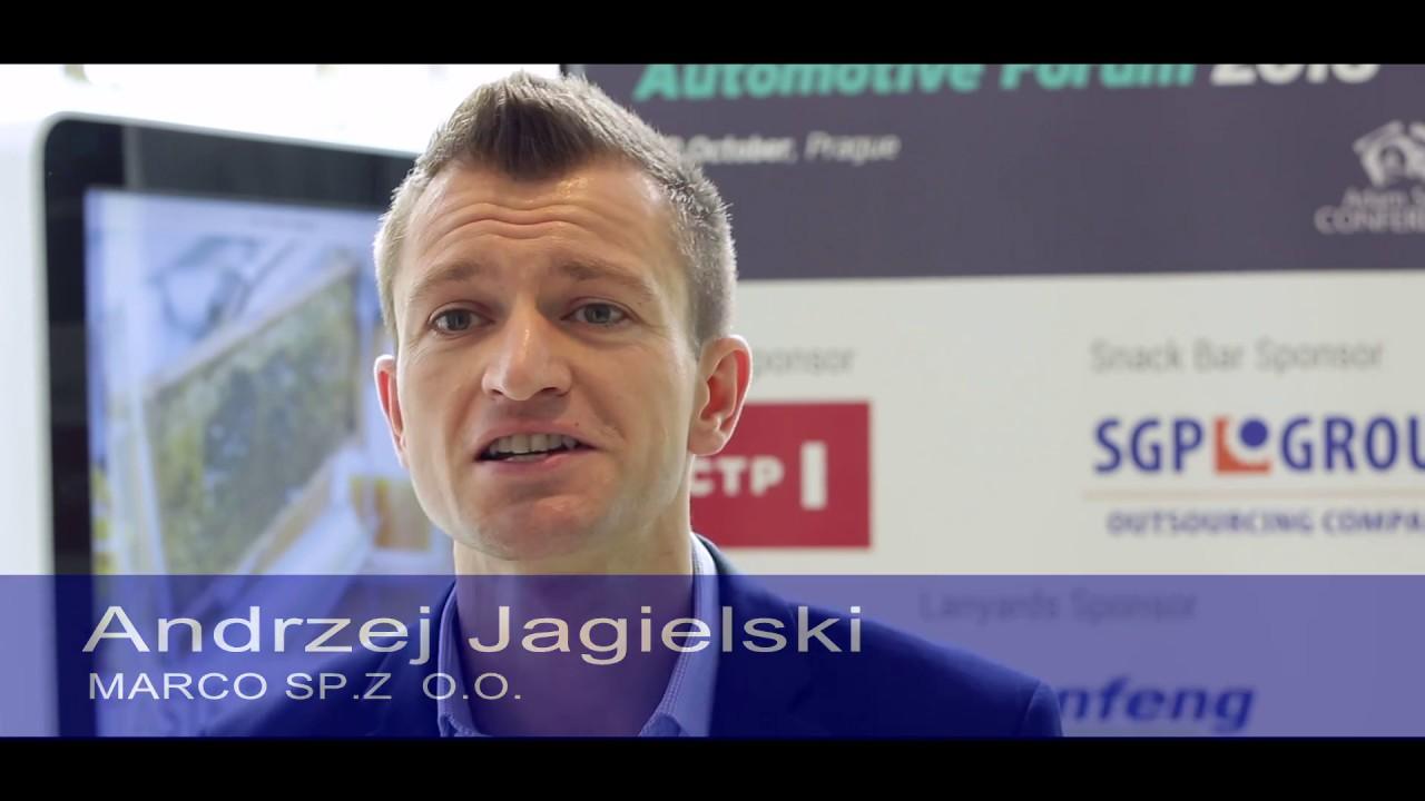 Andrzej Jagielski, Key Account Manager MARCO - Central Automotive ...