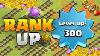 "Clash of Clans - ""FASTEST WAY TO RANK UP!"" - How to Level Up Fast! EASY XP!"