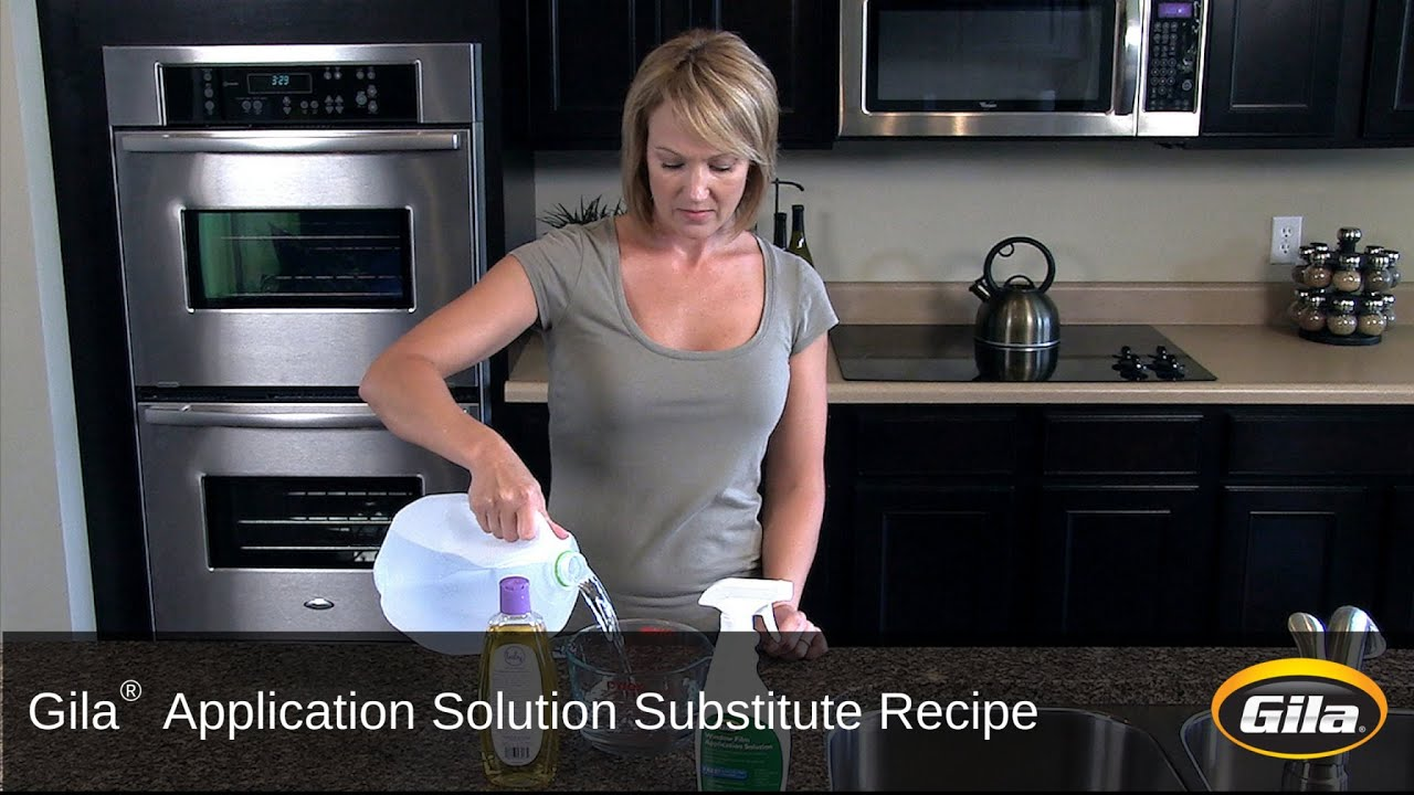 Gila Application Solution Substitute Recipe YouTube - Custom vinyl decal application fluid recipe