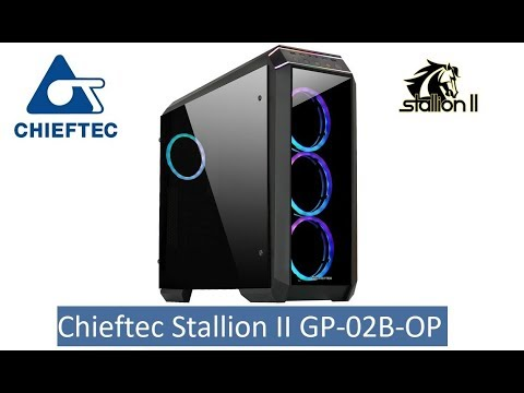 Корпус Chieftec Stallion II GP-02B-OP