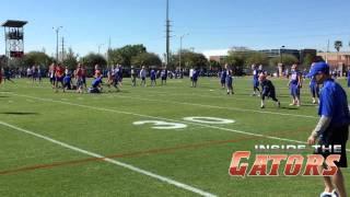Florida Gators Football Spring Practice 3-16-15