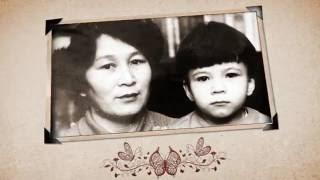 История одной жизни... Ко дню рождения бабушки. (слайд шоу на заказ)